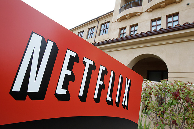 FILE - This March 20, 2012 file photo shows Netfilx headquarters in Los Gatos, Calif. Netflix reports quarterly earnings on Wednesday, Oct. 15, 2014. (AP Photo/Paul Sakuma, File) ORG XMIT: NYBZ107