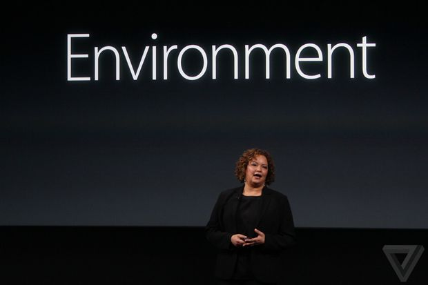 Lisa Jackson, vice-presidente para ambiente da Apple