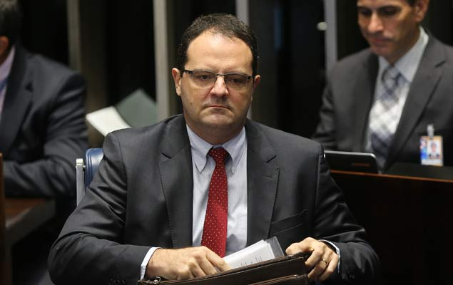 Nelson Barbosa fala na votação do julgamento final do impeachment no Senado