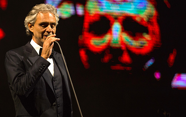 Show do tenor italiano Andrea Bocelli no Allianz Parque, em 2016