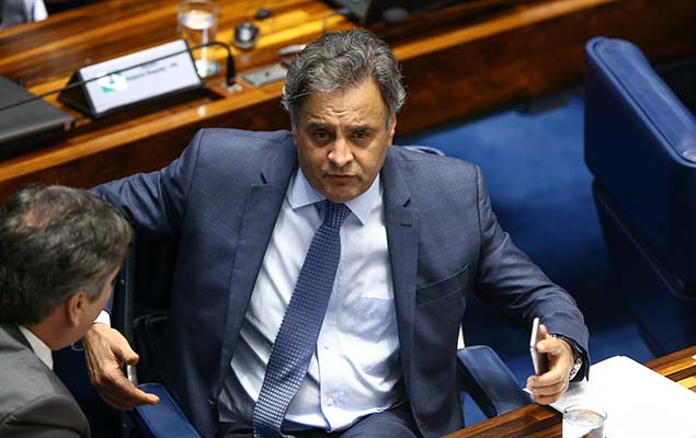 Brazil's Supreme Court suspended Aécio Neves from Senate