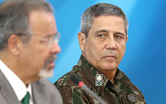 General Walter Braga Netto, the federal representative overseeing Rio de Janeiro's public security