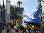 Chap�u do Mickey feiticeiro, no parque Hollywood Studios