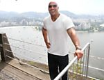 The Rock no P�o de A�ucar