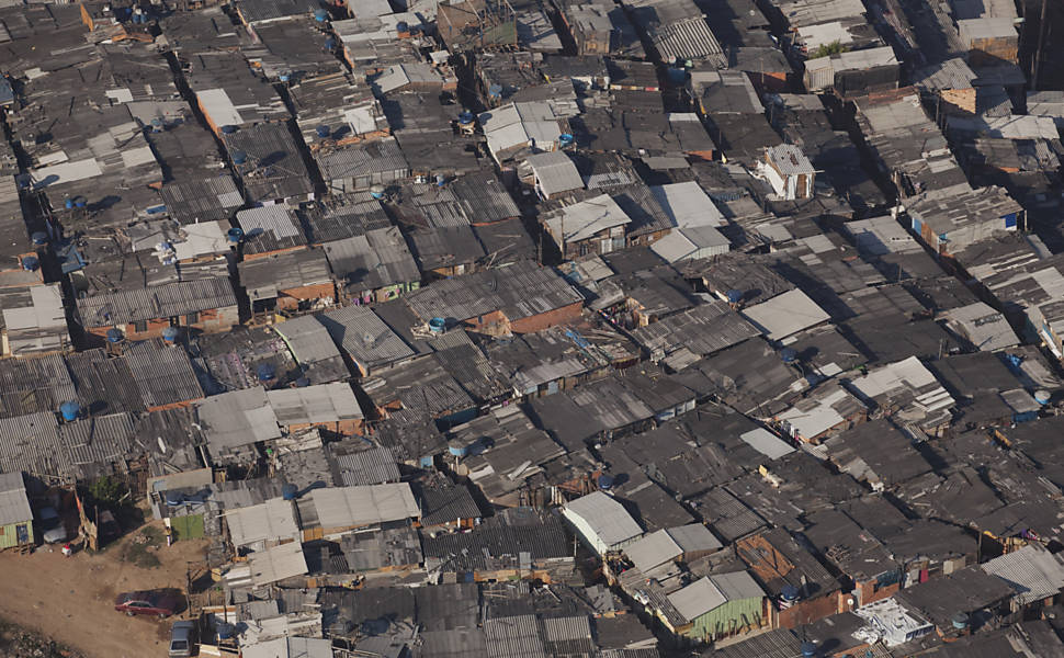 Slum between S�o Paulo and Osasco