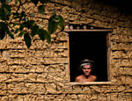 Ant�nio Serra, 75, lives in a mud house in Porto de Brotas, a community of S�o Francisco do Conde, in Bahia