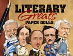 "Capa do livro de Tim Foley, ""Literary Greats Paper Dolls"" (Dover Publications, 128 p�gs., R$ 24,60)"