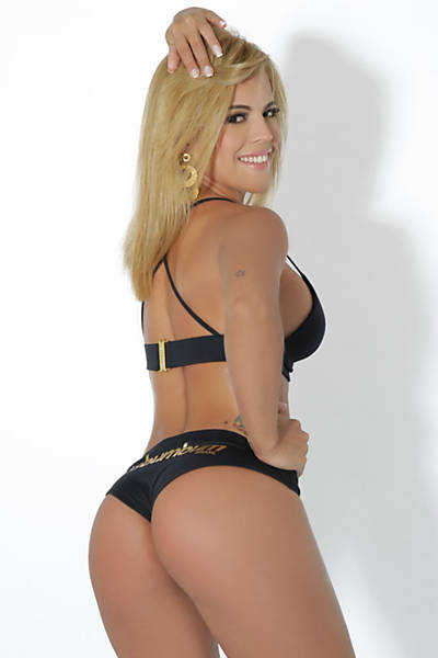 Rosana Freitas representing the state of Ceará in Miss Best Butt Brazil 2011