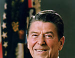 40. 1981-1989: Ronald Reagan, republicano