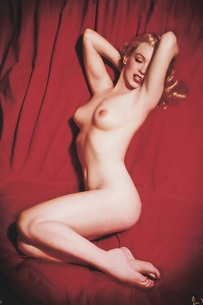 Marilyn Monroe no Red Velvet, fotografada por Tom Kelley (1949) Leia mais