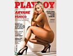 Aryane Steinkopf estampa capa do m�s de abril da Playboy