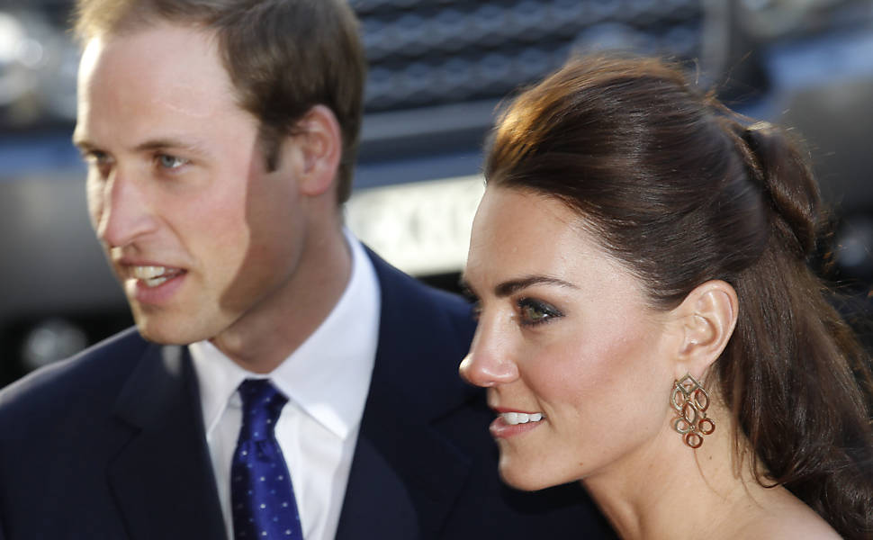 Um ano de Kate e William