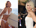 Cameron Diaz tambm no turbinou os seios e  considerada super-sexy