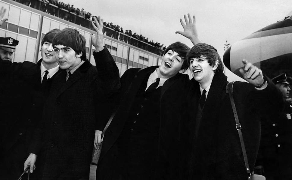 Beatles invadem a América