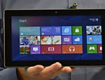 Microsoft lana tablet prprio, o Windows Surface, com sistema Windows 8, durante evento hoje em Los Angeles, nos EUA Leia mais