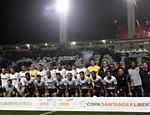 Jogadores do Corinthians posam para foto antes da partida Saiba mais sobre a partida