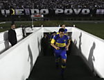 Riquelme (Boca Juniors) entra em campo Saiba mais sobre a partida