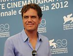 "O ator Michael Shannon durante sess�o de fotos do filme ""The Iceman"" no 69� Festival de Cinema de Veneza"