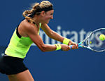 A bielorrussa Victoria Azarenka em ao contra a australiana Samantha Stosur pelas quartas de final do Aberto dos EUA, quarto e ltimo Grand Slam americano Leia mais