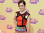 A atriz Emma Watson chega para a premia��o do Video Music Awards Leia mais