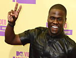 O ator Kevin Hart chega para a cerimnia de premiao do VMA Leia mais