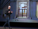O executivo-chefe da Apple Tim Cook fala durante evento da Apple em San Francisco, Calif�rnia Saiba mais sobre o evento