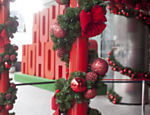 Detalhe da decora��o de Natal do shopping Center 3