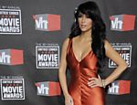 Kim Kardashian posa para fotos no Choice Movie Awards, na California, nos EUA
