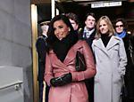 Eva Longoria chega para a cerimônia de posse do presidente Barack Obama em Washington Leia mais