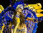 Desfile da Acad�micos do Tatuap� no primeiro dia do Carnaval de S�o Paulo no samb�dromo do Anhembi Leia mais