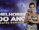 "Adriana Esteves no ""Melhores do Ano"" do ""Doming�o do Faust�o"""