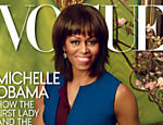 "Michelle Obama na capa da revista ""Vogue"""