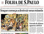Relembre a Guerra do Iraque pelo acervo da Folha