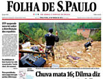 Tragdias da chuva, no Acervo Folha