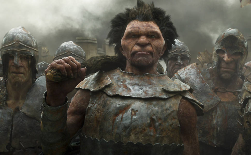 Giant Monster big attack - Jack the giant slayer …