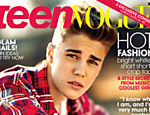 "Justin Bieber na capa da revista ""Teen Vogue"""