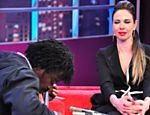 "Luciana Gimenez entrevista Seu Jorge no ""Luciana By Night"""