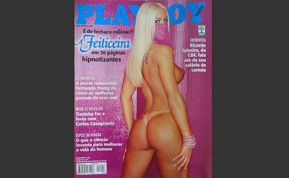 "As 10 capas mais vendidas da ""Playboy"""