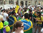 Protesto na It�lia