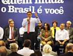 A�cio Neves participou de encontro com mais de 300 lideran�as e militantes do PSDB do Distrito Federal, em Bras�lia