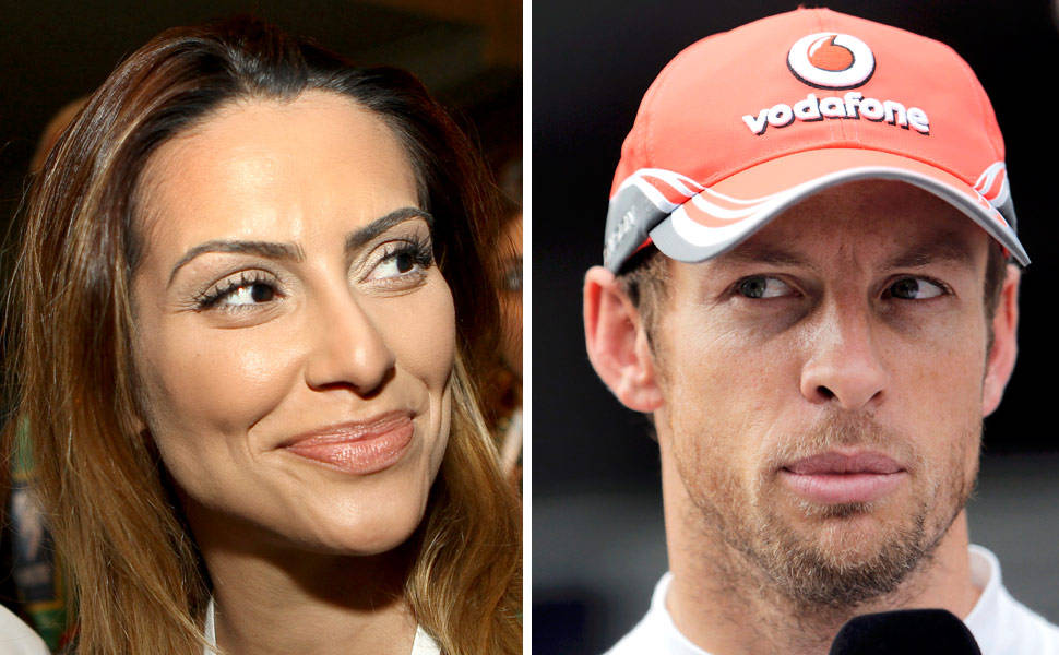 Cl�o Pires e Jenson Button