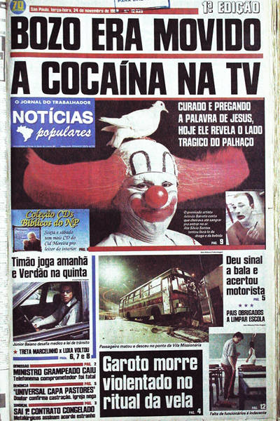Bozo movido a cocaína