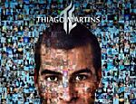 A capa do primeiro CD, 'Thiago Martins'