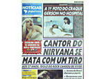 Morte de Kurt Cobain no NP