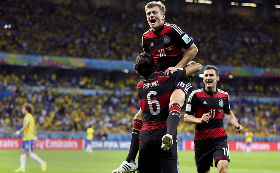 Semifinal Between Brazil and Germany