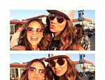 Bruna Marquezine e St�phannie Oliveira, em Los Angeles