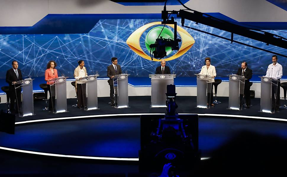 First Presidential Debate in Sao Paulo