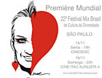 "Flyer do filme ""Gazelle - The Love Issue"", do diretor Cesar Terranova"