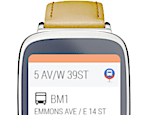 Moovit para wearables Android e Apple Watch