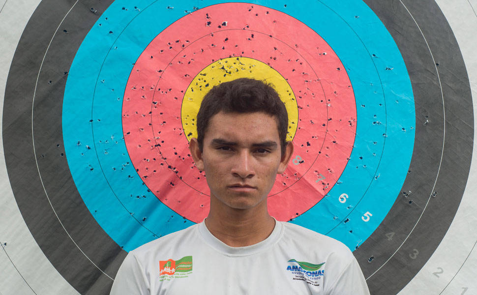 Athlete trains to become the first Native Brazilian to represent the country in the Olympics